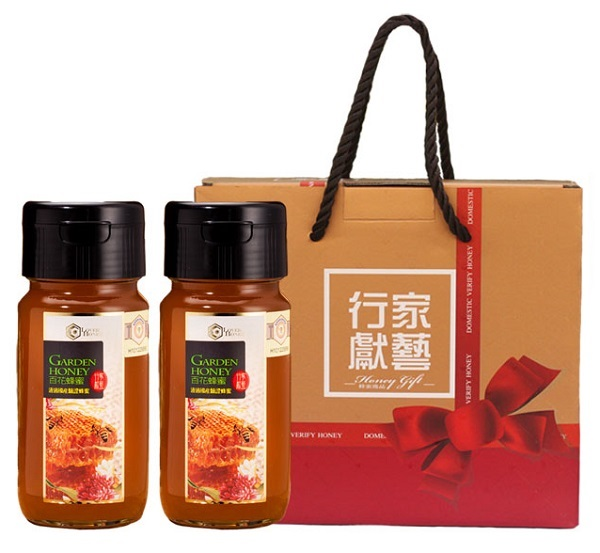 【行家獻藝】台灣驗證蜂蜜禮盒(百花*2) 1